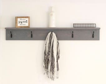 Wall Coat Rack Etsy