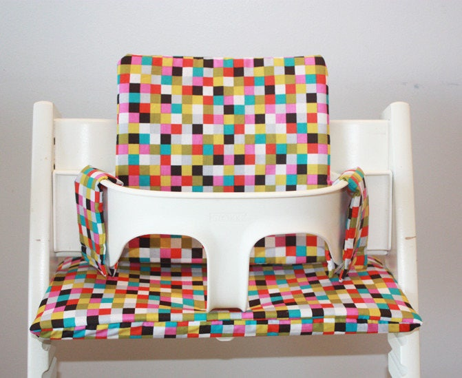 Kussen Tripp Trapp : Chair cushion high stokke tripp trapp multicolor chair baby etsy