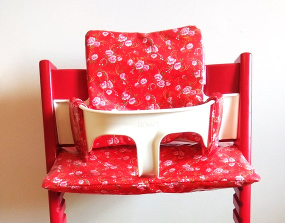 coussin chaise tripp rouge nettoyage haute facile trappfleurs stokkepour QxtdBhCsr