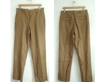 fb6dad147520d 80s LL Bean Tan Wool Pants Mens Size 32 Waist, Tan Pants, Wool Pants, LL  Bean, Mens Wool Pants, Classic Pants, Tan Wool, Tan Mens Pants, 80s