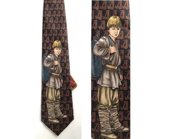 1999 Ralph Marlin Star Wars Young Skywalker Tie, N