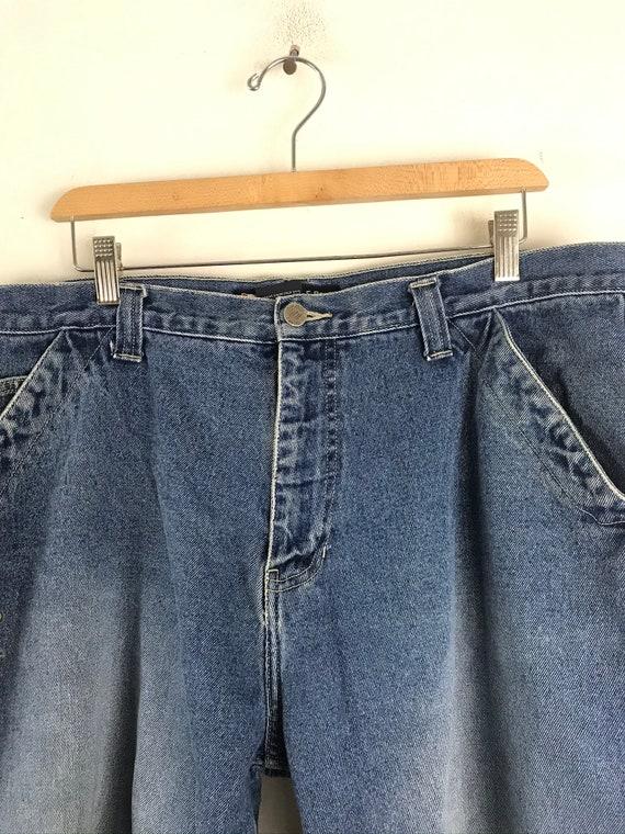 Vintage Bugele Boy Light Wash Jean Shorts Mens Si… - image 3