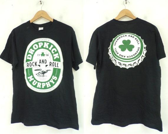 90s Dropkick Murphys Autographed Tshirt Mens Mediu