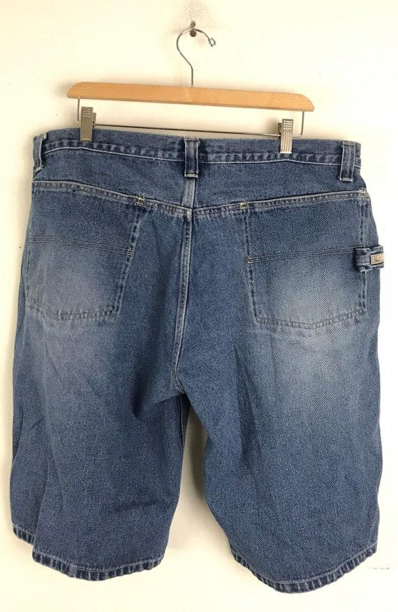 Vintage Bugele Boy Light Wash Jean Shorts Mens Si… - image 5