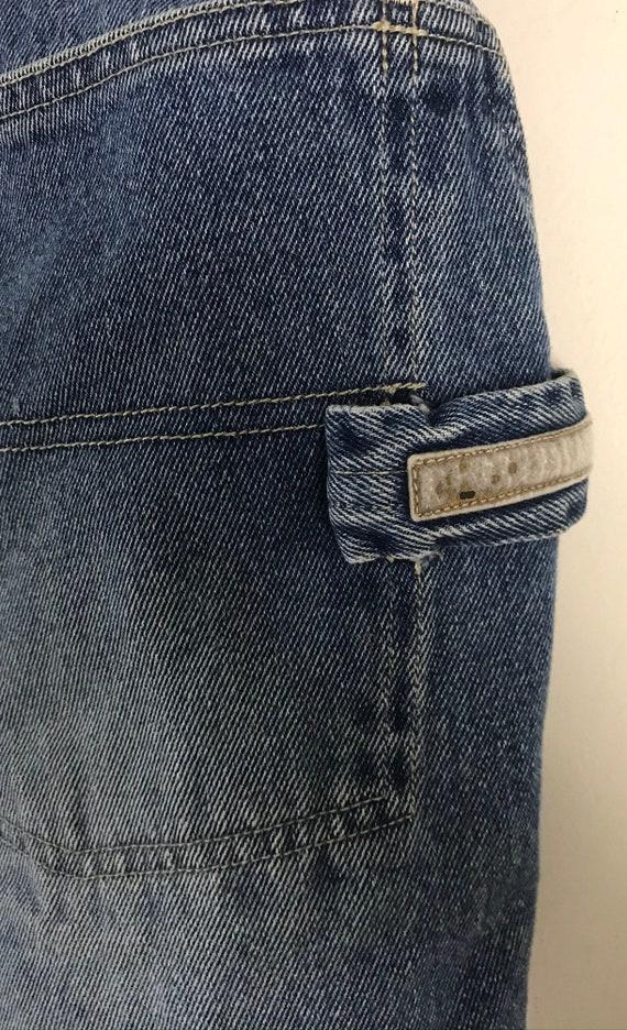 Vintage Bugele Boy Light Wash Jean Shorts Mens Si… - image 6
