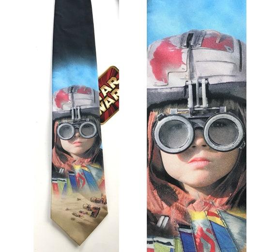 1999 Ralph Marlin Star Wars Anakin Large Tie, New