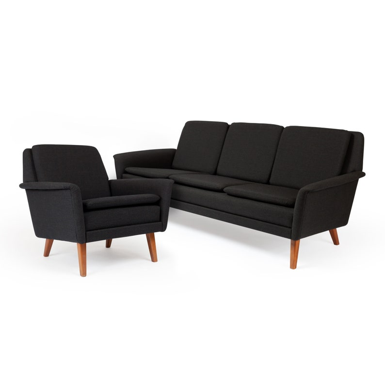 Vinatage Danish Modern Folke Ohlsson Dux Sofa Lounge Chair Etsy