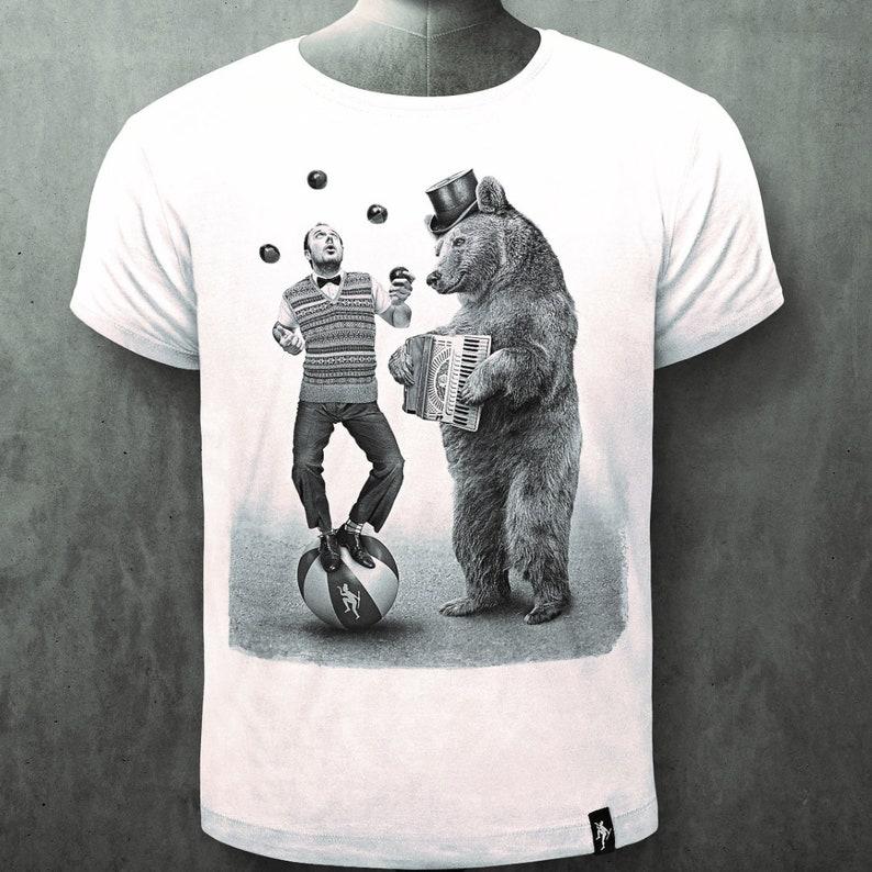 c139ec8db DIRTY VELVET 'Balancing Act' T-Shirt White | Etsy