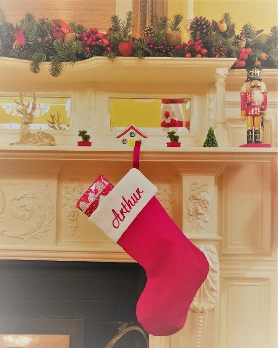 Christmas Fireplace Stockings PEEL OFF STICKERS Stocking Motifs Cardmaking