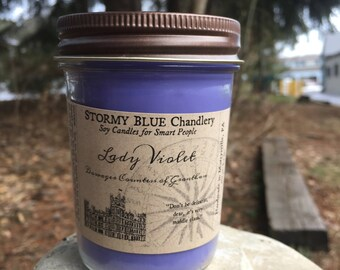 Lady Violet Soy Candle