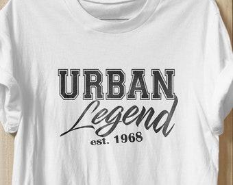 50th Birthday Shirt 1968 Tshirt Gifts Gift For Her Him T Shirts Tees
