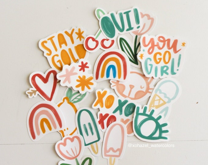 Random Assortment Sticker Pack