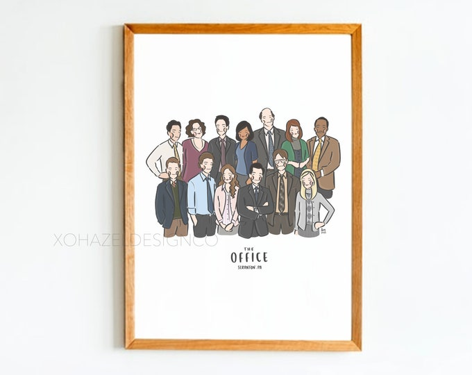 The Office Wall Art Print
