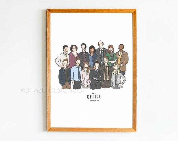 The Office Wall Art Print