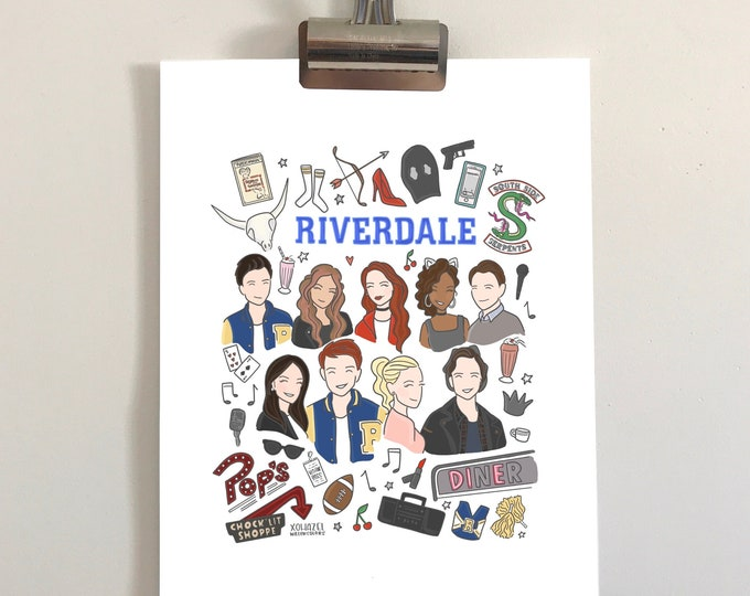 Riverdale Illustration Print
