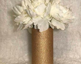 Pebble Textured Vase Vintage Wedding Centerpiece Bridal Shower Decor Engagement Party Decor Baby Shower Decor Desk Accessories Office Decor
