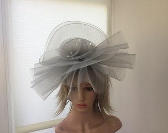 c94bd757f08d Cappello grigio sposa