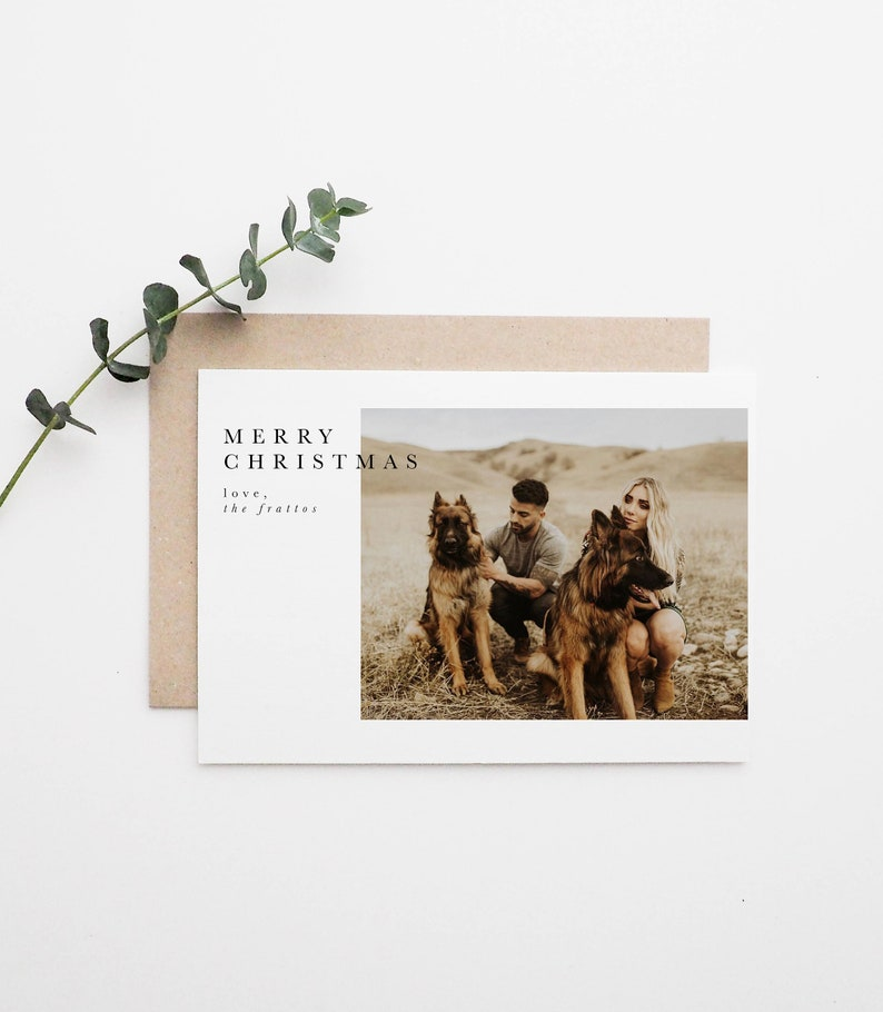 Simple Holiday Card | Simple Greeting Card | Modern Greeting Card
