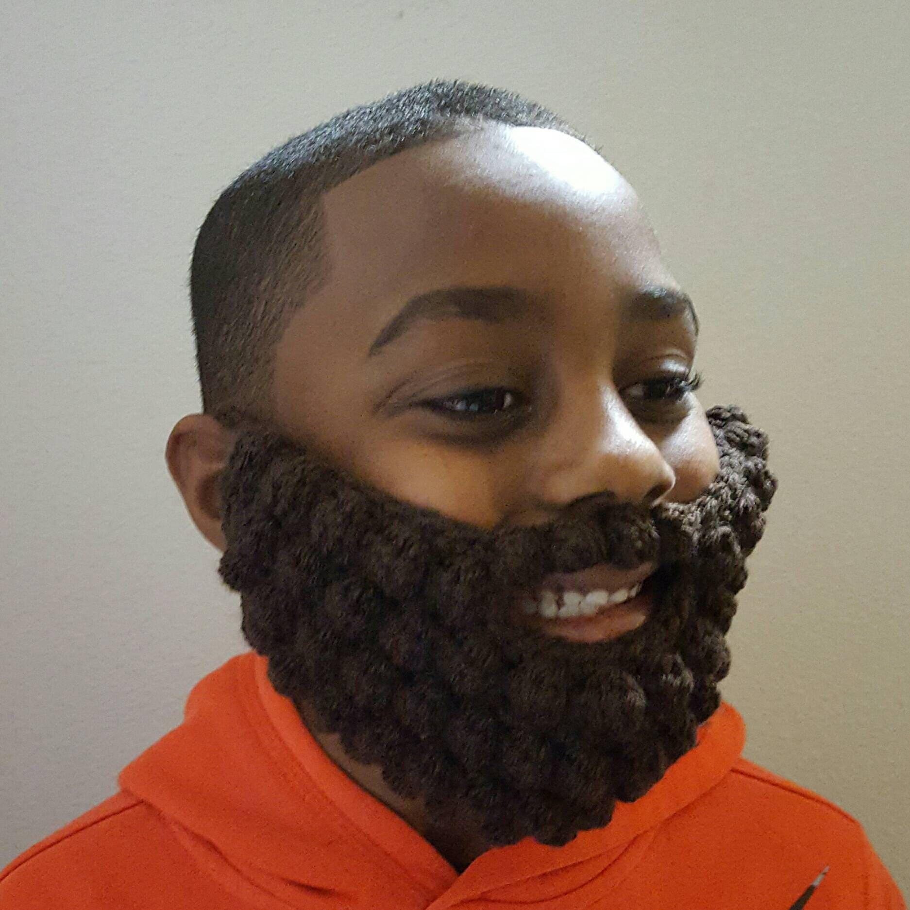 Crochet beard fake beard kids beard yarn beard bearded  ce15929ea2b2