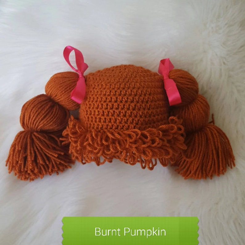 halloween costume cabbage patch wig adult wig adult cabbage patch hat funny hat day Cabbage Patch Hat baby cabbage patch hat cosplay