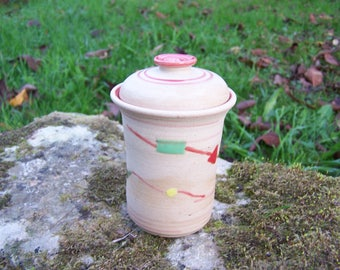 "Kite ""Earth and jewelry"" ceramic jar"