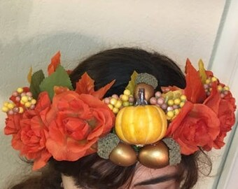 Fall Flower Crown