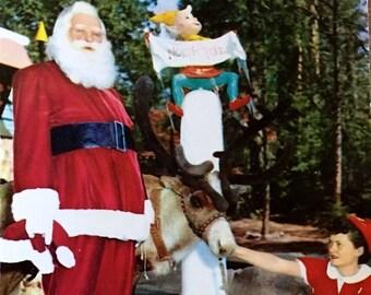 Santa's Village in Sky Forest Vintage Postcard