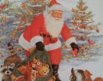Vintage Christmas Thank You Etsy