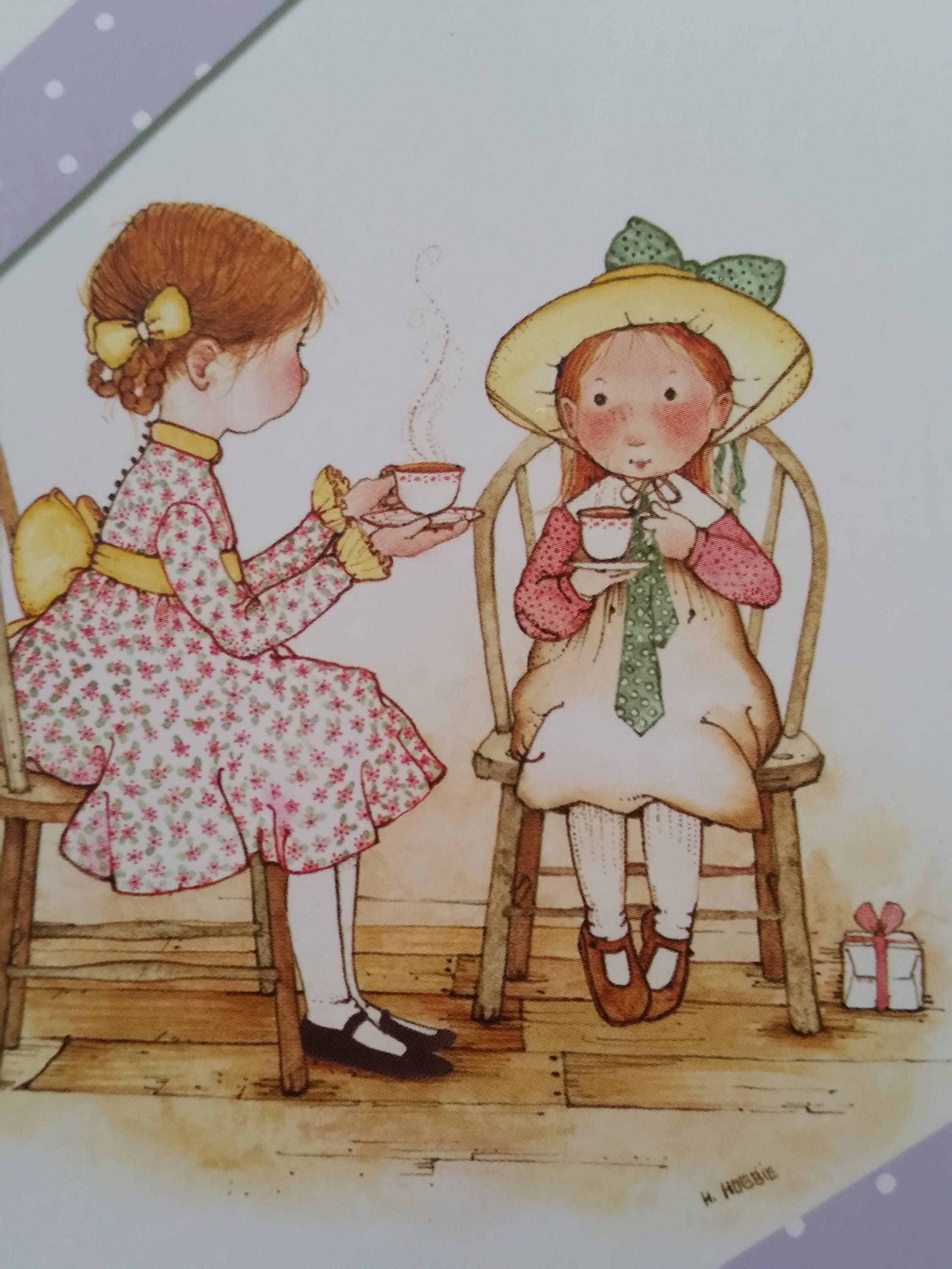 Vintage Greeting Card 2005 American Greetings Holly Hobbie Etsy