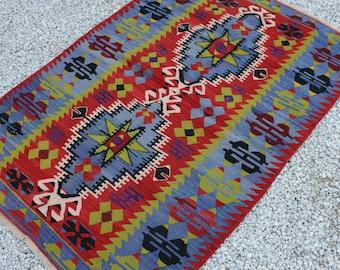 Tappeti Kilim Antichi : Antique kilim rug etsy