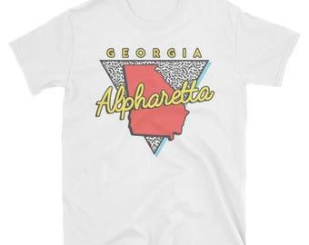Alpharetta Georgia T Shirt Vintage GA