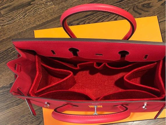Hermes Birkin 35 Tasche Veranstalter, Filz Tasche Veranstalter, Qualität