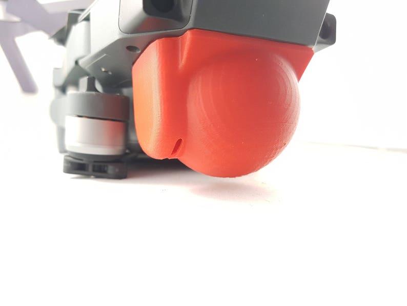 Mavic Lens Hood Gimbal Lock Protective Cover for DJI Mavic pro lock dome red