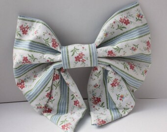 Handmade Upcycled Wallpaper Bow (Large)