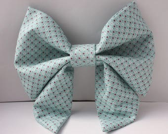 Blue Sweet Lolita Bow (Large)