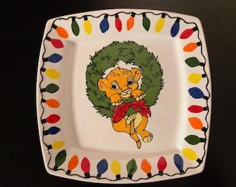 Baby Simba Christmas Platter