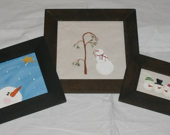 Hand Painted Christmas Pictures