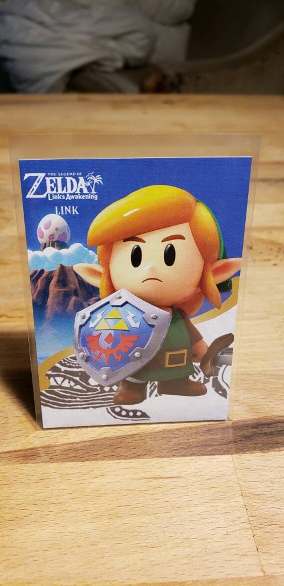 Zelda Link S Awakening Link Card Unlock Shadow Link Nfc Card Switch Remake Amiibo Card