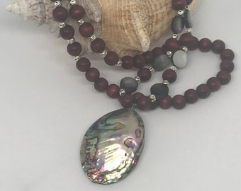 Abalone Shell Necklace