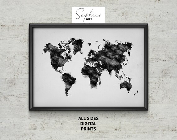 Map of Europe Wall Art Giant Poster A5 A4 A3 A2 A1 HUGE Sizes