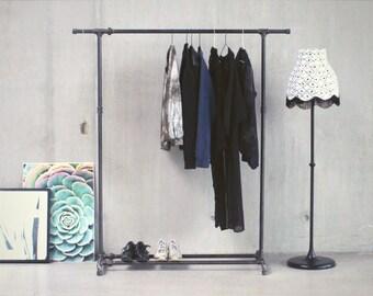 Kleiderstander Weis Metall ~ Kleiderstange etsy