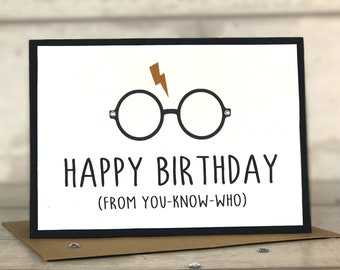 Harry Potter Birthday Card Harry Potter Harry Potter Card Birthday Card Harry Potter Gift Hogwarts Gryffindor Slytherin  sc 1 st  Etsy & Harry potter gift | Etsy