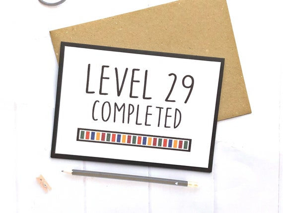 30th Birthday Card, Gamer Birthday Card, Gamer Gifts, Gamer Birthday, Gaming Birthday Card
