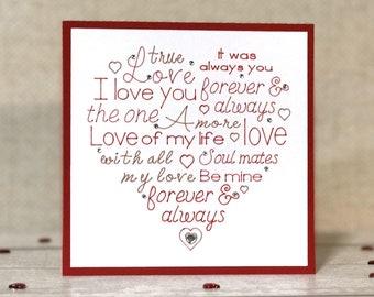 Romantic Anniversary Card, Anniversary Card, Anniversary, Card, Anniversary Gifts, Husband, Romantic