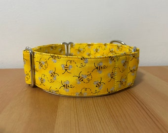"""The Busy Bee 1.5"""" Martingale Collar"""