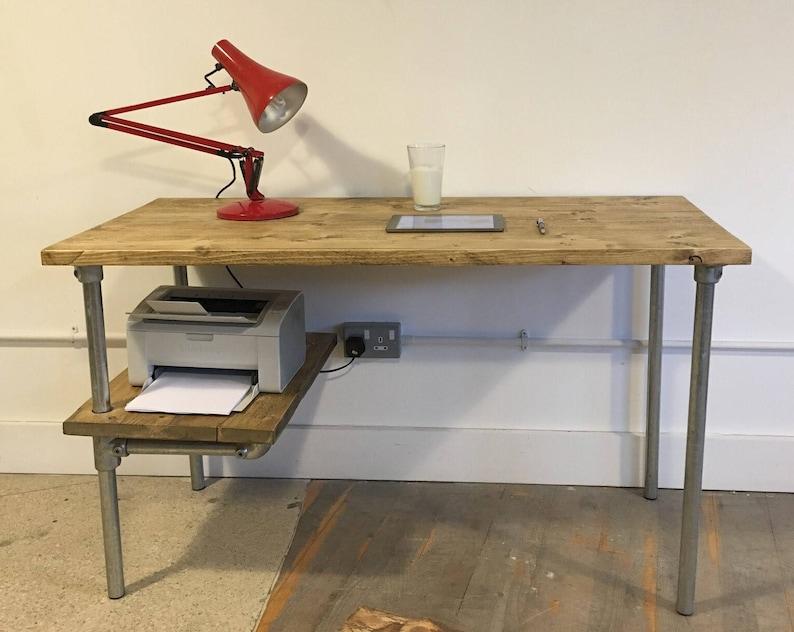 Bureau en bois brut awesome best bureau console bois images