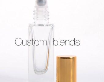 Custom Blend Perfume Oil