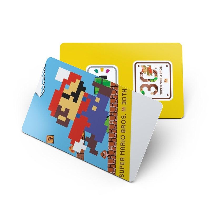 30th Anniversary /& Gold Silver Mario Does same as Amiibo 2-Pack PVC NFC Game Cards Super Mario Bros