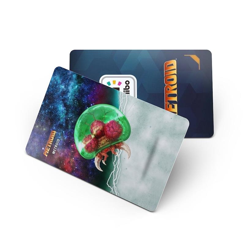 Metroid series Samus Returns PVC NFC Game Cards Samus Aran Does same as Amiibo 4-Pack2-Pack