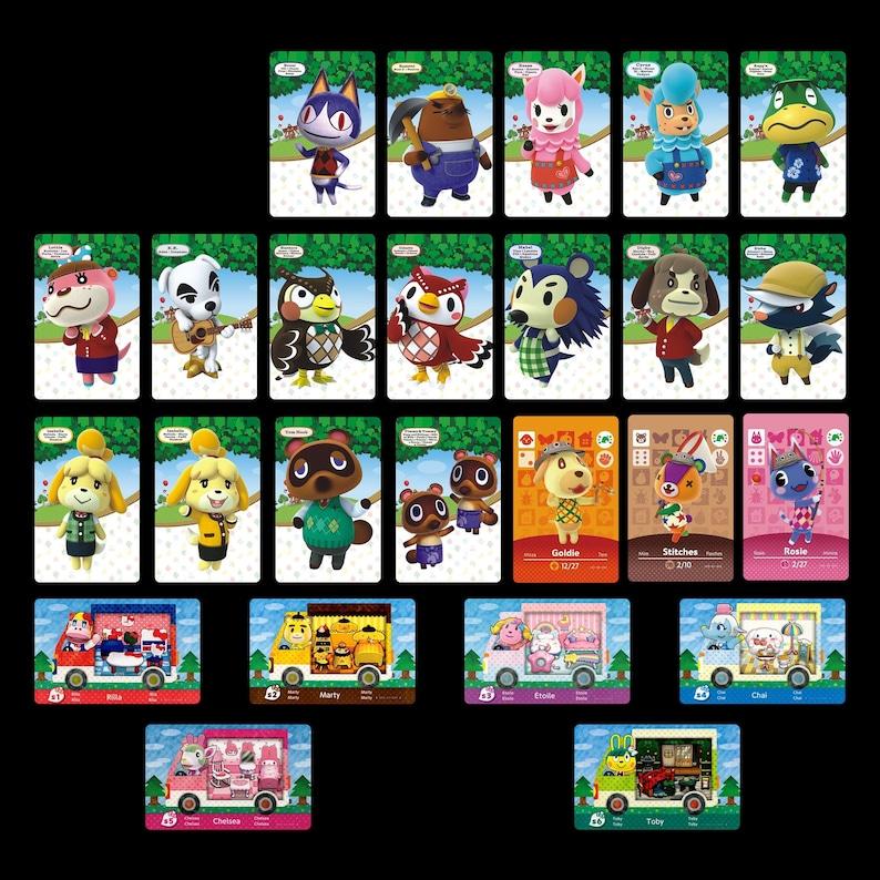 25-Pack Animal Crossing Figure Series  Festival Promos  Sanrio PVC NFC Game Cards Dose same as Amiibo